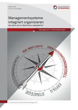 Managementsysteme integriert organisieren von Kastl,  Isabel, Wirnsperger,  Johann