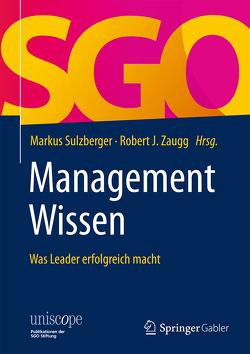 ManagementWissen von Sulzberger,  Markus, Zaugg,  Robert J.