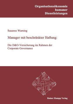 Manager mit beschränkter Haftung von Warning,  Susanne