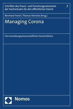 Managing Corona von Frevel,  Bernhard, Heinicke,  Thomas
