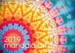 mandala-art (Wandkalender 2019 DIN A3 quer)