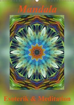 Mandala – Esoterik & Meditation / CH-Version (Wandkalender 2018 DIN A2 hoch) von Art-Motiva,  k.A.