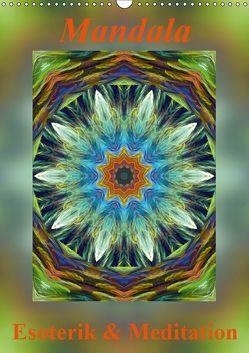 Mandala – Esoterik & Meditation / CH-Version (Wandkalender 2019 DIN A3 hoch)