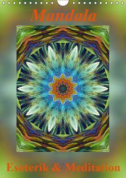 Mandala – Esoterik & Meditation / CH-Version (Wandkalender 2019 DIN A4 hoch)