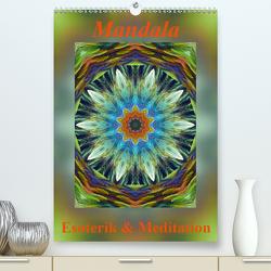 Mandala – Esoterik & Meditation (Premium, hochwertiger DIN A2 Wandkalender 2021, Kunstdruck in Hochglanz) von Art-Motiva