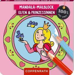 Mandala-Malblock Elfen und Prinzessinnen von Broska,  Elke