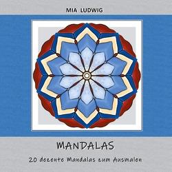 Mandala-Malbuch von LUDWIG,  MIA
