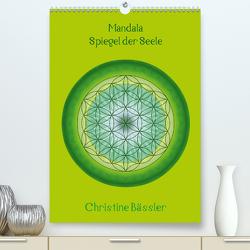 Mandala – Spiegel der Seele/CH-Version (Premium, hochwertiger DIN A2 Wandkalender 2020, Kunstdruck in Hochglanz) von Bässler,  Christine