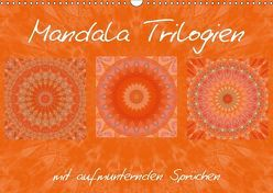 Mandala TrilogienAT-Version (Wandkalender 2018 DIN A3 quer) von Bässler,  Christine
