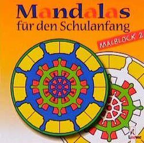 Mandalas für den Schulanfang, Malblock 2 von Fahrenkamp,  Tobias