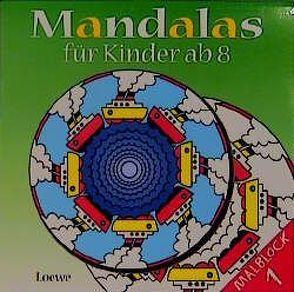 Mandalas für Kinder ab 8, Malblock 1 von Erker,  Robert