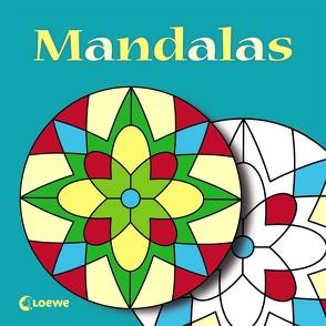 Mandalas (türkis) von Erker,  Robert