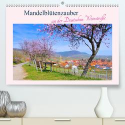Mandelblütenzauber an der Deutschen Weinstraße (Premium, hochwertiger DIN A2 Wandkalender 2020, Kunstdruck in Hochglanz) von LianeM