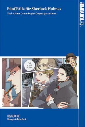 Manga-Bibliothek: Fünf Fälle für Sherlock Holmes von Doyle,  Arthur Conan, Komusubi,  Haruka