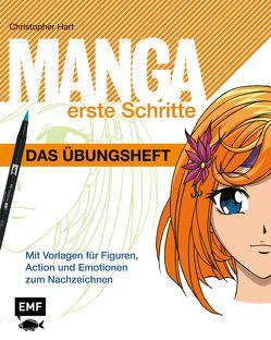 Manga Erste Schritte – Das Übungsheft von Hart,  Christopher