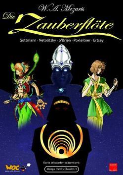 Manga meets Classics: Die Zauberflöte von Ertsey,  Samar, Windorfer,  Karin