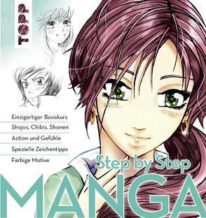 Manga Step by Step von Keck,  Gecko