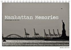 Manhattan Memories – Erinnerungen an New York (Tischkalender 2018 DIN A5 quer) von Graf,  Martin