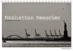 Manhattan Memories – Erinnerungen an New York (Tischkalender 2019 DIN A5 quer) von Graf,  Martin