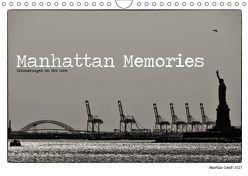 Manhattan Memories – Erinnerungen an New York (Wandkalender 2019 DIN A4 quer) von Graf,  Martin