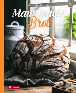 Mann backt Brot von Moschen,  Marian