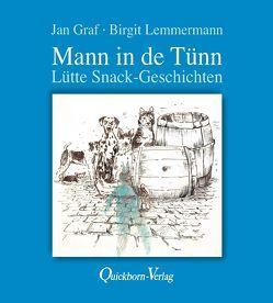 Mann in de Tünn von Graf,  Jan, Lemmermann,  Birgit