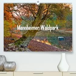 Mannheimer Waldpark (Premium, hochwertiger DIN A2 Wandkalender 2020, Kunstdruck in Hochglanz) von Tortora - www.aroundthelight.com,  Alessandro