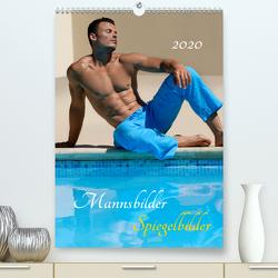 Mannsbilder Spiegelbilder (Premium, hochwertiger DIN A2 Wandkalender 2020, Kunstdruck in Hochglanz) von malestockphoto