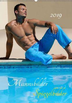 Mannsbilder Spiegelbilder (Wandkalender 2019 DIN A2 hoch) von malestockphoto
