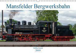 Mansfelder Bergwerksbahn (Wandkalender 2019 DIN A3 quer) von Artist Design,  Magic, Bergwerksbahn e.V.,  Mansfelder, Gierok,  Steffen