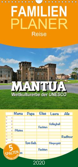 Mantua – Weltkulturerbe der UNESCO – Familienplaner hoch (Wandkalender 2020 , 21 cm x 45 cm, hoch) von Bartruff,  Thomas
