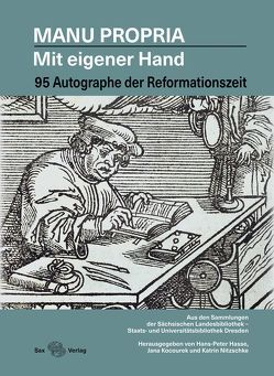 Manu propria – Mit eigener Hand von Hasse,  Hans-Peter, Kocourek,  Jana, Nitzschke,  Katrin
