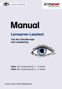 Manual Lernserver-Lesetest von Findeisen,  Uwe, Melenk,  Gisela
