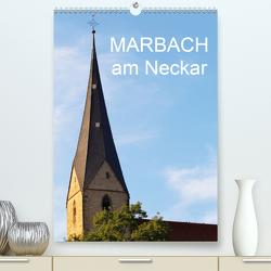Marbach am Neckar(Premium, hochwertiger DIN A2 Wandkalender 2020, Kunstdruck in Hochglanz) von Jäger,  Anette/Thomas