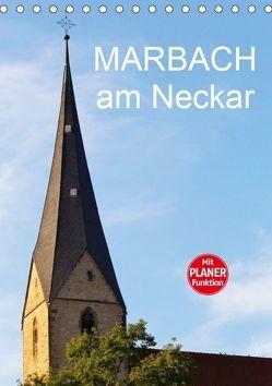 Marbach am Neckar (Tischkalender 2019 DIN A5 hoch) von Jäger,  Anette/Thomas