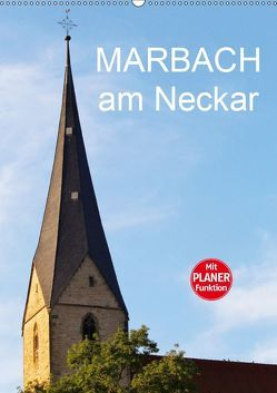 Marbach am Neckar (Wandkalender 2019 DIN A2 hoch) von Jäger,  Anette/Thomas