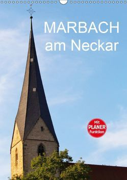 Marbach am Neckar (Wandkalender 2019 DIN A3 hoch) von Jäger,  Anette/Thomas