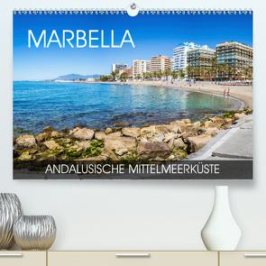 Marbella – andalusische Mittelmeerküste (Premium, hochwertiger DIN A2 Wandkalender 2020, Kunstdruck in Hochglanz) von Thoermer,  Val