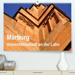 Marburg – Universitätsstadt an der Lahn (Premium, hochwertiger DIN A2 Wandkalender 2021, Kunstdruck in Hochglanz) von Thauwald,  Pia