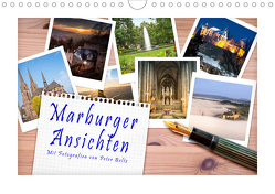 Marburger Ansichten (Wandkalender 2020 DIN A4 quer) von Beltz,  Peter