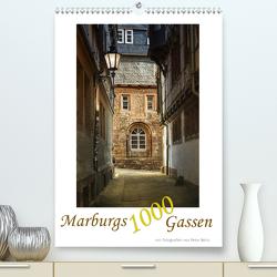 Marburgs 1000 Gassen (Premium, hochwertiger DIN A2 Wandkalender 2020, Kunstdruck in Hochglanz) von Beltz,  Peter