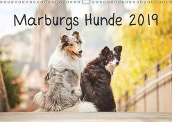 Marburgs Hunde 2019 (Wandkalender 2019 DIN A3 quer) von Hemlep,  Christine
