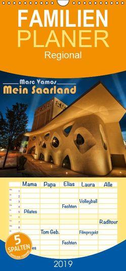 Marc Vamos – Mein Saarland – Familienplaner hoch (Wandkalender 2019 , 21 cm x 45 cm, hoch) von Vamos,  Marc