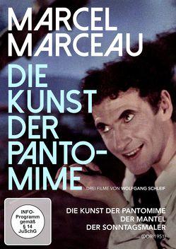 MARCEL MARCEAU – Die Kunst der Pantomime von Schleif,  Wolfgang