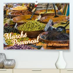 Marché Provencal – Märkte der Provence (Premium, hochwertiger DIN A2 Wandkalender 2020, Kunstdruck in Hochglanz) von Thiele,  Ralf-Udo