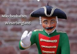 Märchenhaftes Weserbergland (Posterbuch DIN A2 quer) von Berg,  Martina