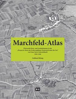 Marchfeld-Atlas von König,  Gebhard