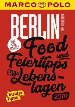 MARCO POLO Beste Stadt der Welt – Berlin 2019 (MARCO POLO Cityguides) von Wiedemeier,  Juliane