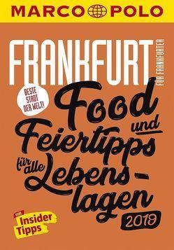 MARCO POLO Beste Stadt der Welt – Frankfurt 2019 (MARCO POLO Cityguides) von Cichosch,  Katharina J., Kathe,  Sandra