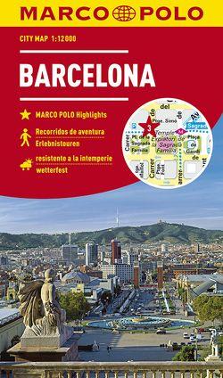 MARCO POLO Cityplan Barcelona 1:12000